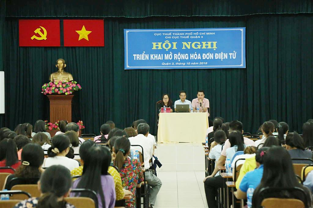 Sau nhiều nỗ lực của Cục thuế, 19,03% doanh nghiệp TP. Hồ Chí Minh đã áp dụng hóa đơn điện tử