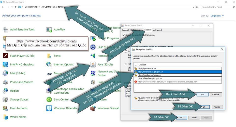 Hướng dẫn xử lý lỗi hệ thống không hiển thị hoàn thành hoặc ký và nộp trong cửa sổ nhập mã PIN