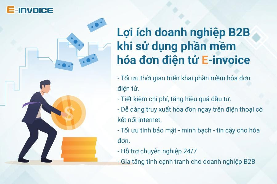 Những lý do doanh nghiệp B2B nên sử dụng hóa đơn điện tử