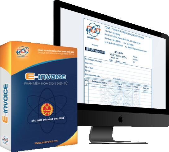 Phần mềm hóa đơn điện tử Einvoice