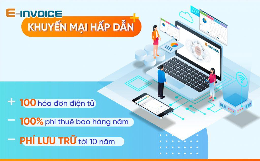 Khuyến mãi hấp dẫn từ hóa đơn điện tử Einvoice