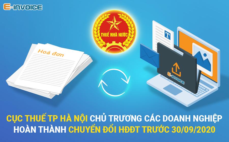Hà Nội phấn đấu đạt 100% doanh nghiệp sử dụng hóa đơn điện tử
