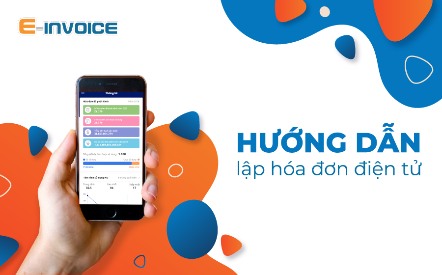 Lập hóa đơn điện tử trên app Einvoice