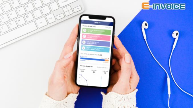 sử dụng app einvoice