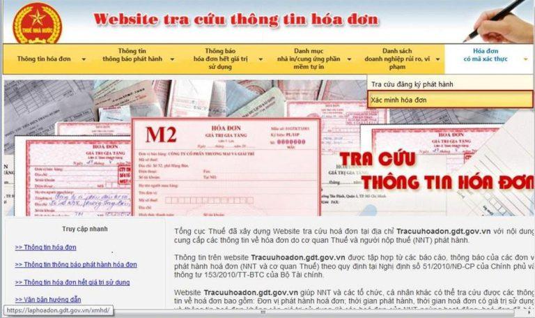 Tìm kiếm thông tin hóa đơn điện tử