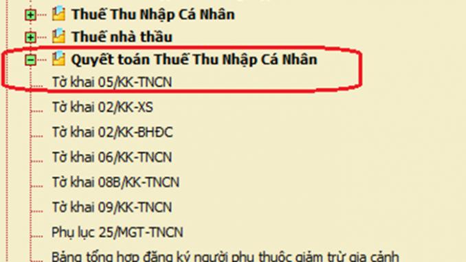 Các bước quyết toán thuế TNCN trong tròn năm