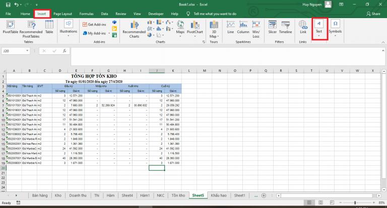 Hướng dẫn sử dụng Excel để tạo chữ ký điện tử