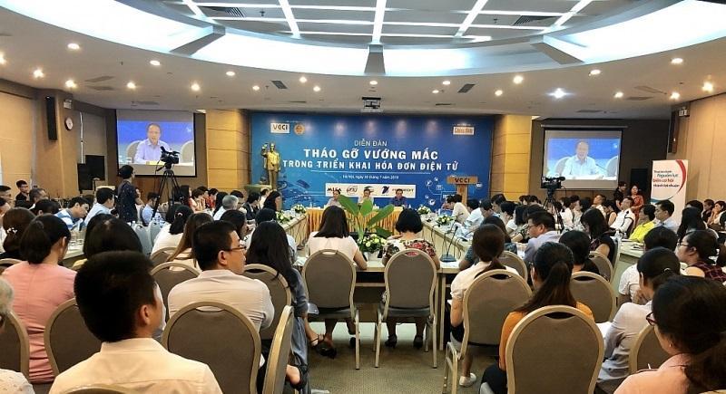 Diễn đàn nhận được nhiều sự quan tâm và tham gia của các doanh nghiệp trên địa bàn Hà Nội