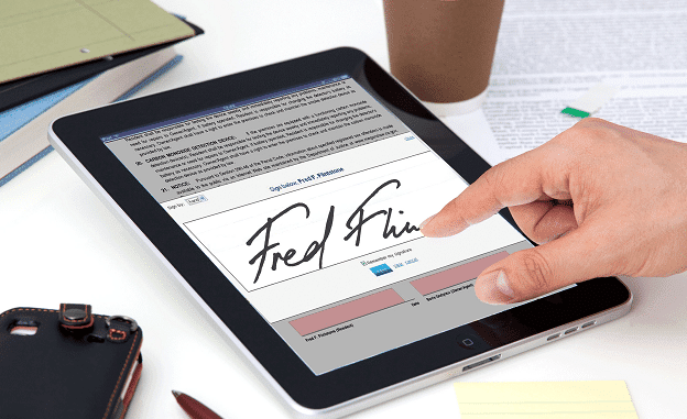 Tạo chữ ký điện tử thế nào?